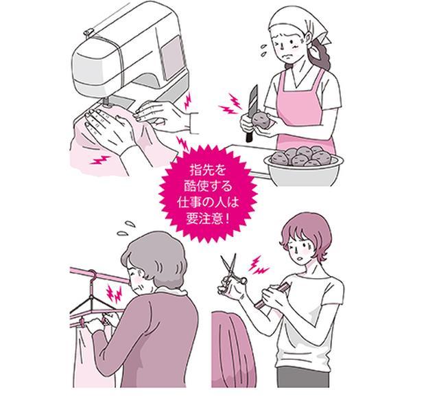 画像: 指に負担をかけている人は要注意
