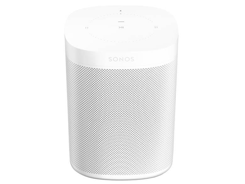 画像: 高さ161ミリとコンパクト。Amazon Alexaに対応し、スマートスピーカーとしても利用できる。2台でステレオ再生も可能。