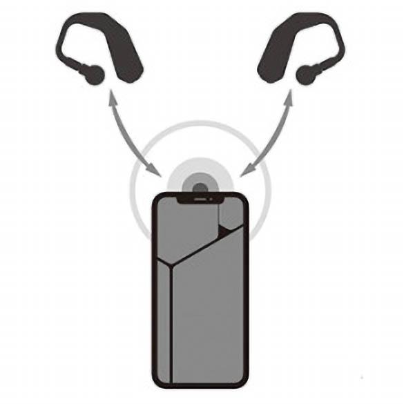 画像1: チップはクアルコム社のQCC3026を採用し、TWS Plus機能に対応。左右の音切れを抑えることができる。