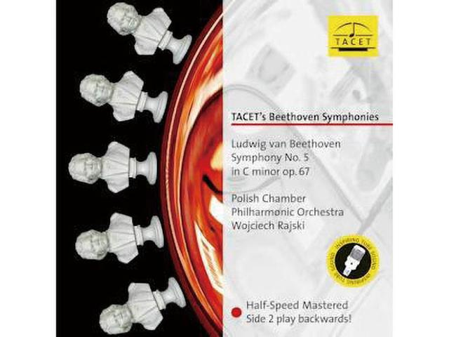 画像: ヴォイチェフ・ライスキ指揮、ポーランド室内フィルハーモニー管弦楽団。ハーフスピード・マスタリングによるカッティング。