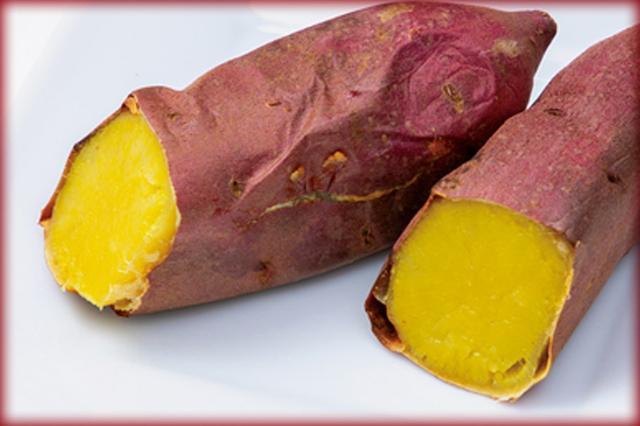 画像: 皮がパリッとして、中はしっとり。焼きイモらしい味わい。