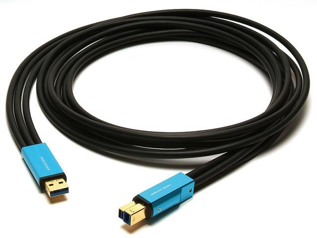 画像: オーディオ専用として開発された新導体PCトリプルCを採用したUSBケーブル。超高S/N比、超低歪み、超高解像度の伝送が可能。