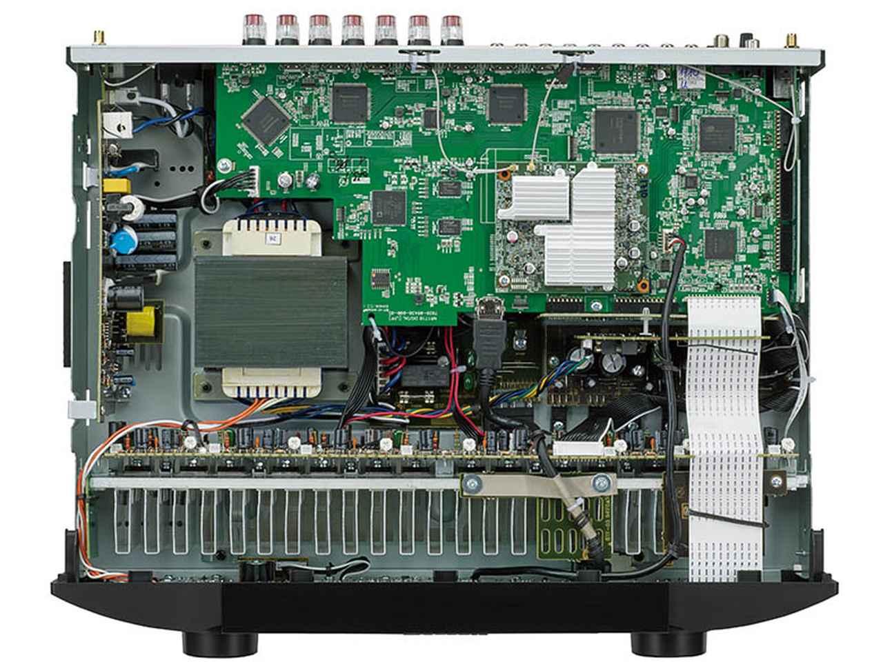 画像: ドルビーアトモスやDTS-Xにも対応し、多彩なネットワーク機能も備えたモデル。ステレオ再生ではバイアンプ駆動にも対応するなど、オーディオ再生も高音質で楽しめる。
