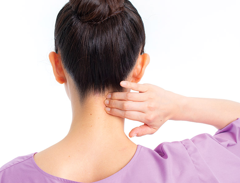 画像1: 首の「モヤモヤ血管つぶし」のやり方