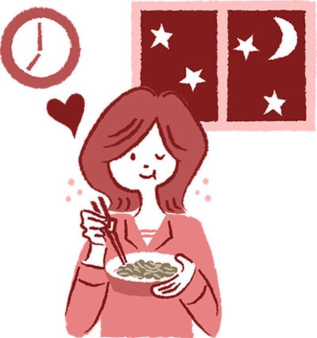 画像: 夕食のご飯代わりにキャベツ納豆を食べた