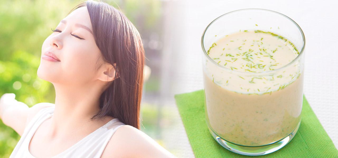 画像: 【アンチエイジングのレシピ】食べ物で内側から若返る!おすすめは「青のりきな粉ドリンク」 - 特選街web