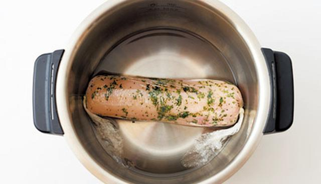 画像4: カンタン低温調理で肉・魚のごちそう 「チキンハーブハム」