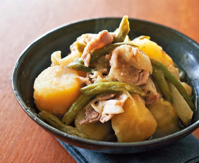 画像: ほっとくだけでおいしい煮物・煮込み 「塩豚肉じゃが」