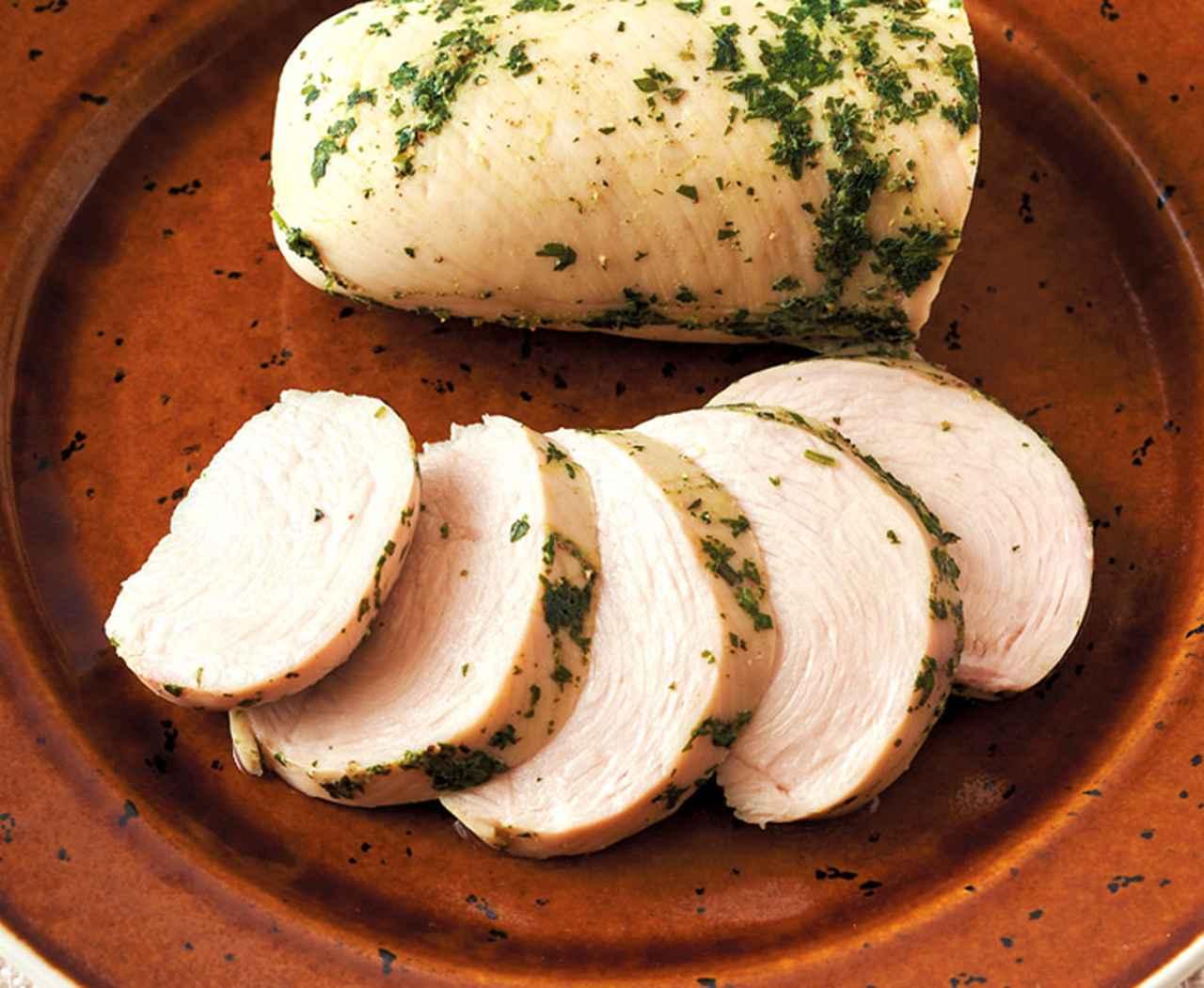 画像1: カンタン低温調理で肉・魚のごちそう 「チキンハーブハム」