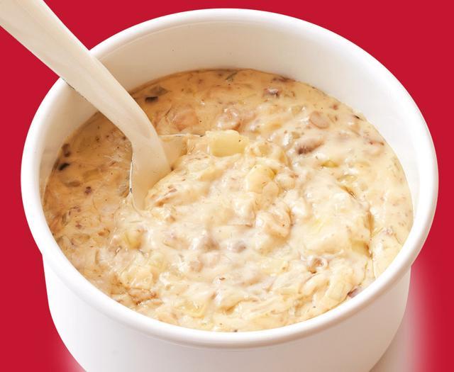 画像: ソースと同時調理のスピードメニュー 「きのこのクリームソース」