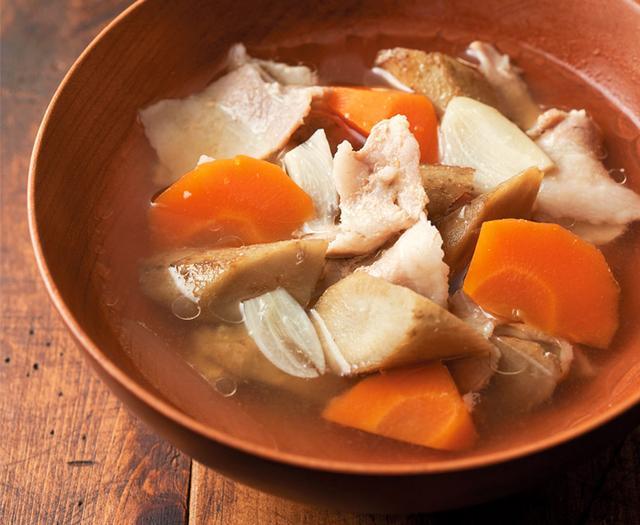 画像: うまみと栄養たっぷりのおかずスープ 「スタミナにんにく豚汁」