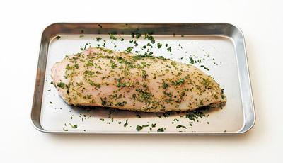画像2: カンタン低温調理で肉・魚のごちそう 「チキンハーブハム」
