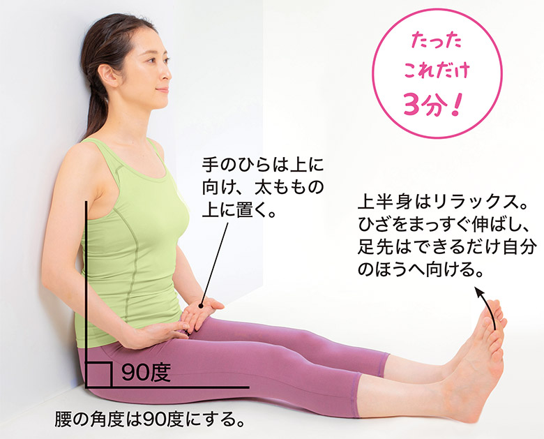 画像3: 股関節痛に効く「エゴスキュー体操」のやり方