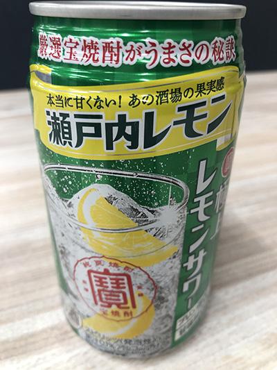 画像: 極上レモンサワー「瀬戸内レモン」 アルコール度数:7% 原材料:レモン、レモンエキス、レモンスピリッツ(国内製造)、焼酎、糖類、酸味料、香料