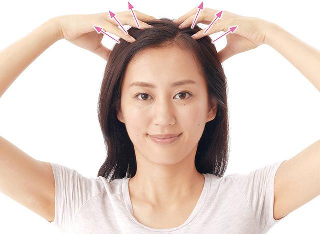 画像6: ポイントはやさしくもむこと! 「頭皮モミモミ」のやり方