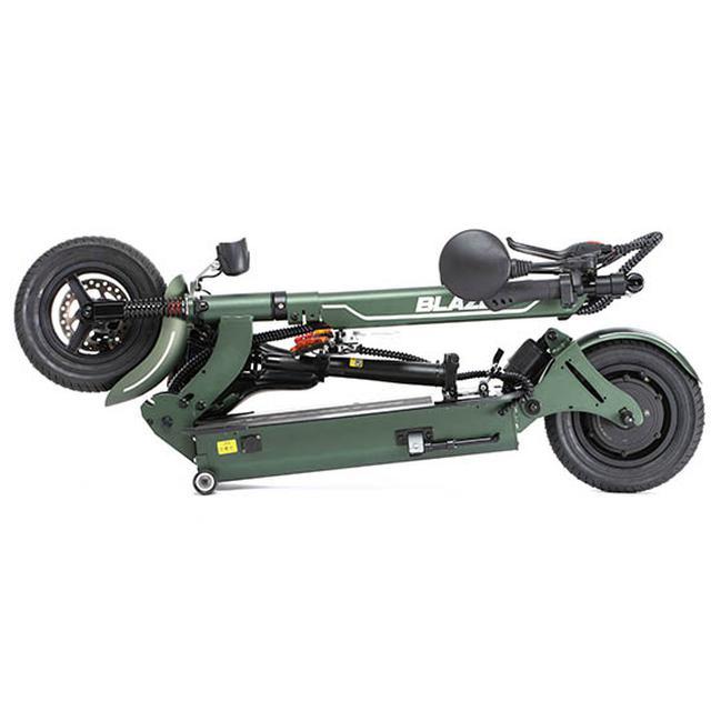 画像2: 公道走行可能な折り畳み電動原付バイク「BLAZE EV SCOOTER」