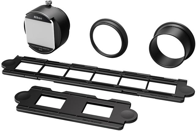画像: ● ニコンの一眼レフにアダプターを装着してフィルムを撮影すれば、スキャンできる!