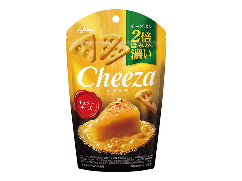 画像: グリコ 生チーズのチーザ<チェダーチーズ>