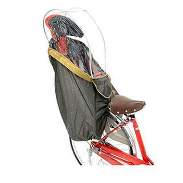 画像3: 子供乗せ自転車の【人気レインカバー】おすすめ5選 つけっぱなしもOK!