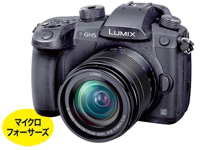 画像1: ミラーレス10万円以上 4K/60p動画撮影など、プロ仕様の動画機能を搭載 パナソニック DC-GH5