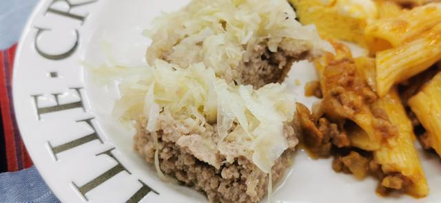 画像: タクックで作った「キャベツ焼売」。切り口からきれいに蒸されていることがわかる。