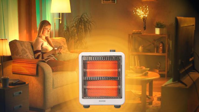 電気 ストーブ 部屋 全体 を 暖める