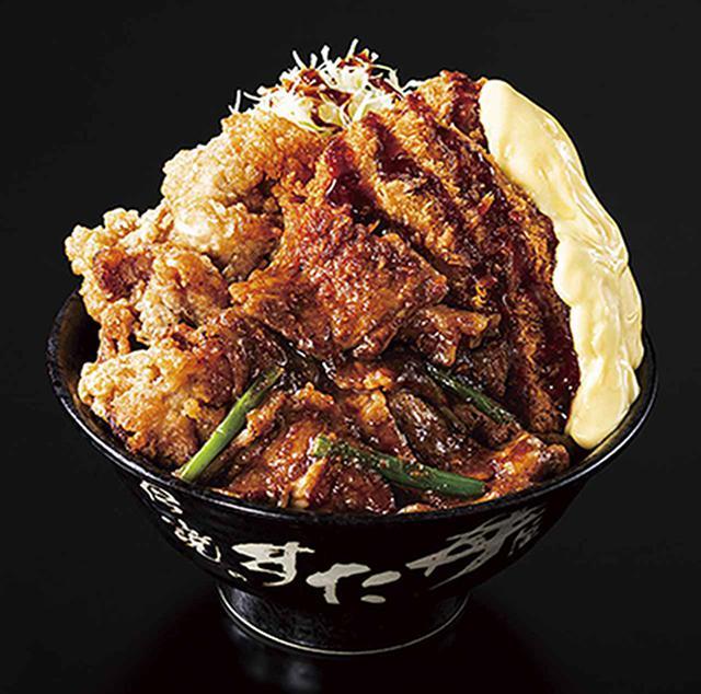 画像: 「トリプルすたみな爆肉丼」990円(税込)