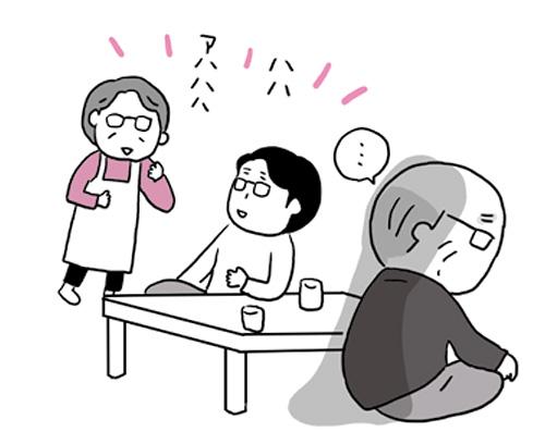 画像: 会話ができなくても心まで空っぽになったわけではない