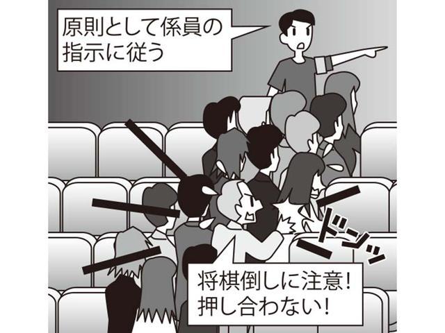 画像: 人が集まる公共の施設で地震に遭遇したら?