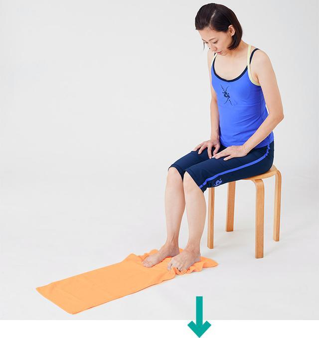 画像8: 【治る?】足底腱膜炎や外反母趾の原因「扁平足」を改善する方法 足のアーチを復活させる簡単体操