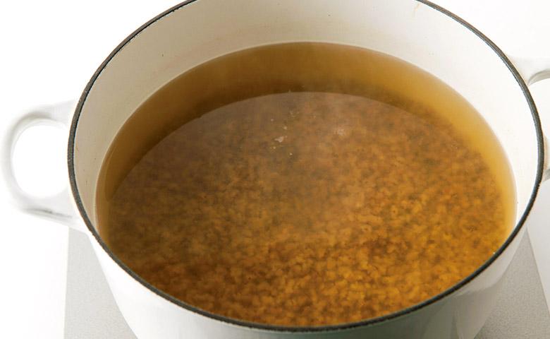 画像4: 香ばしくておいしい!活力が湧く! 「黄金スープ」の作り方