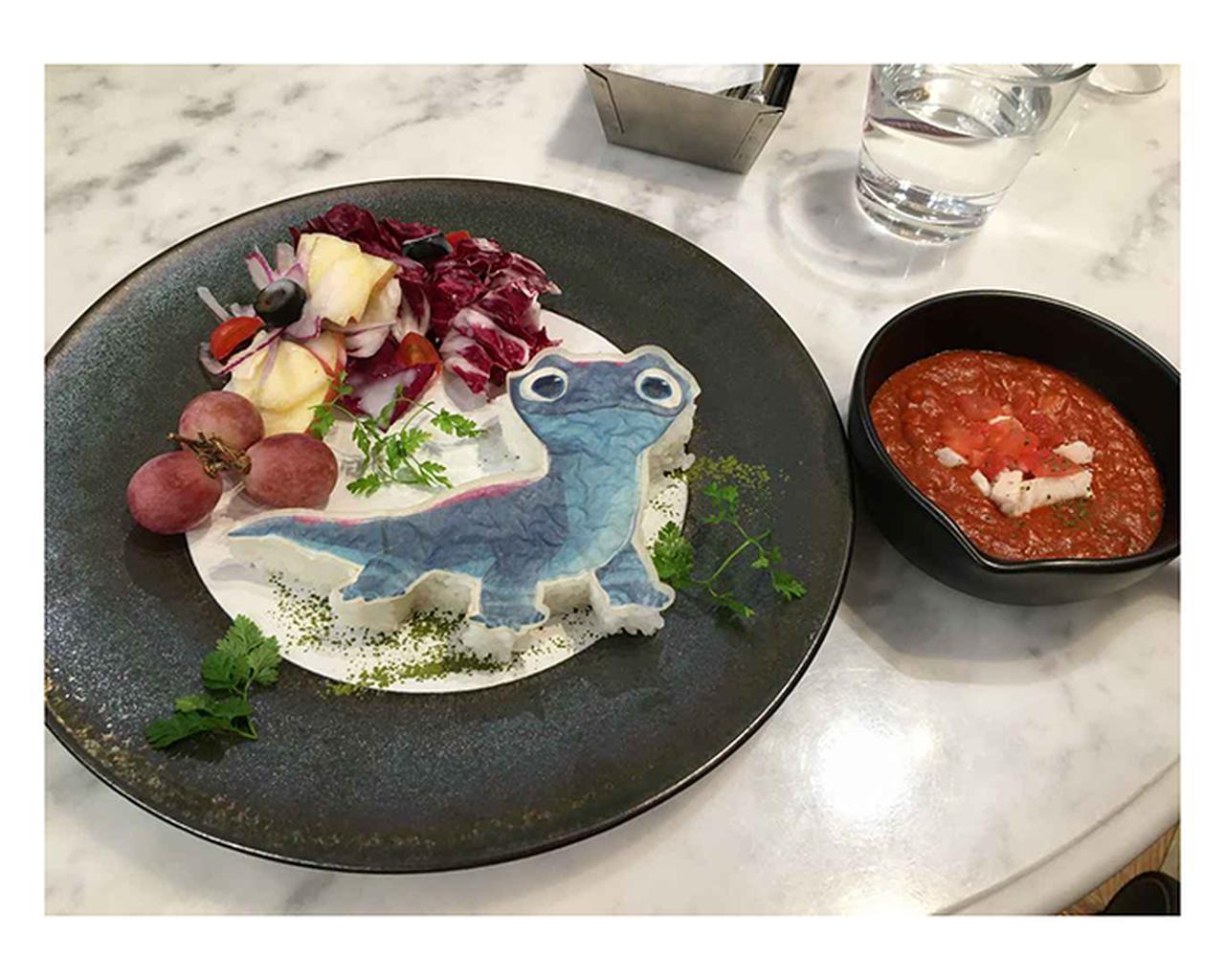 画像: 注目メニュー <サラマンダー>かけて楽しい!? 真っ赤なトマトカレー