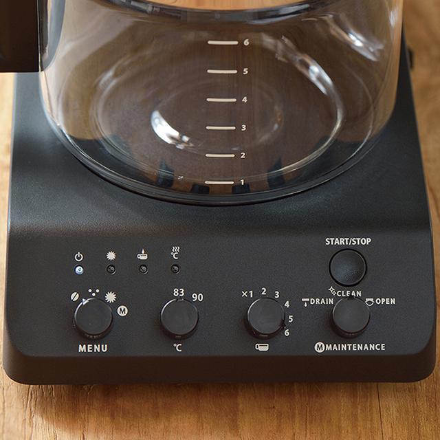 画像2: ツインバードの人気コーヒーメーカーの6杯用タイプ「CM-D465B」レジェンドの味が楽しめる!