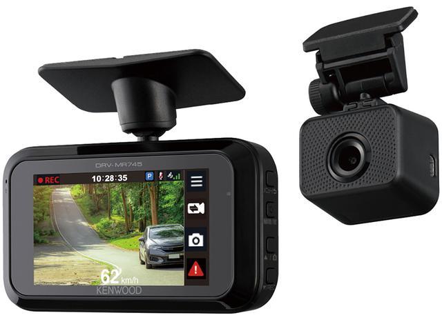 画像: スモーク シースルー機能を新搭載した2カメラドライブレコーダー