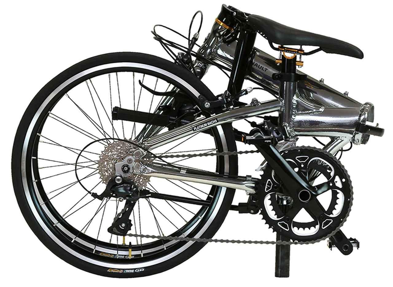 画像2: スポーツタイプのような走りが楽しめる軽量折り畳み自転車