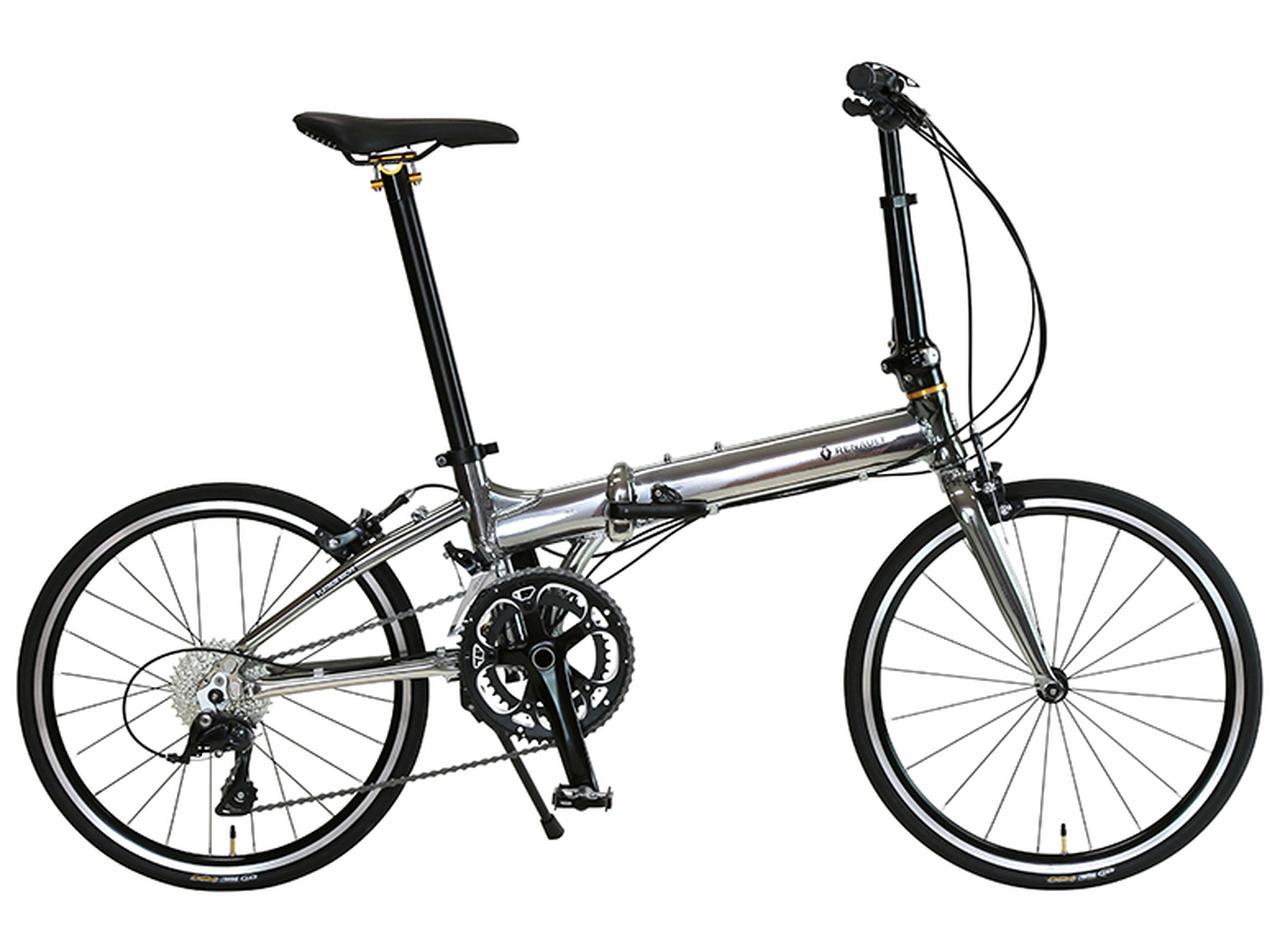 画像1: スポーツタイプのような走りが楽しめる軽量折り畳み自転車