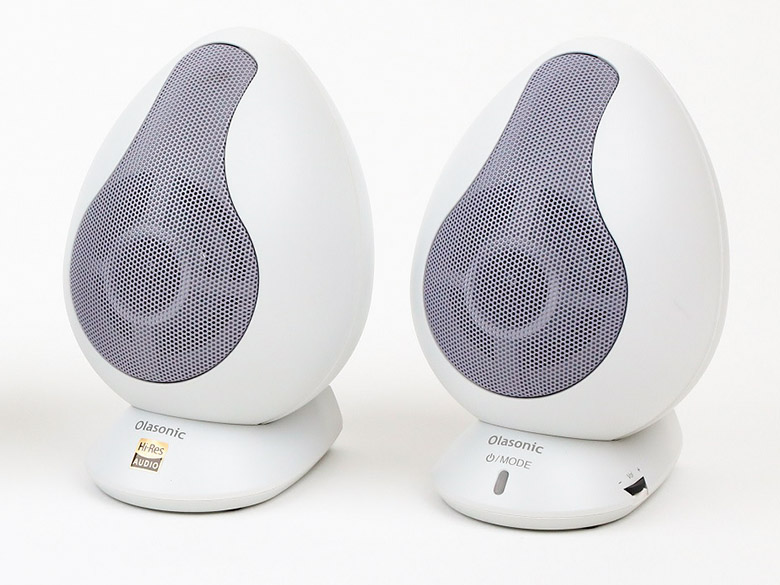 画像: 高音質コーデックに対応した卵型のブルートゥーススピーカー
