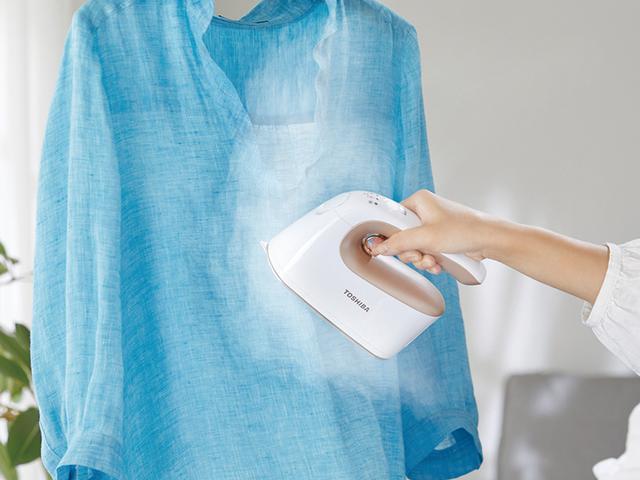 画像: 素早く効果的にシワを伸ばせる衣類スチーマーの最新モデル