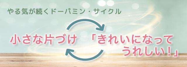 画像: いっぺんに片づけをやるのではなく小分けにして区切りをつけるといい