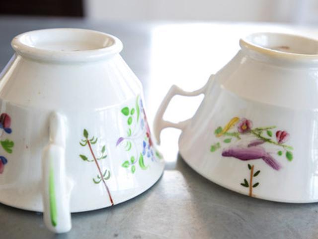画像: お気に入りのカップやグラスは、欠けたり割れたりしても、金継ぎなどで修復して、長く使っている