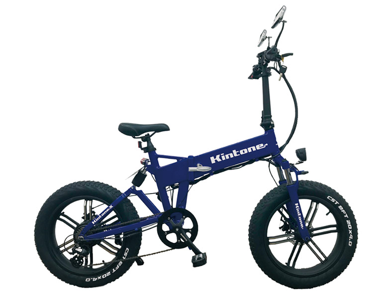 画像: 見た目は折り畳み自転車だが、原付登録で公道走行が可能。オフロード走行も可能な電動バイクに乗ってみた!