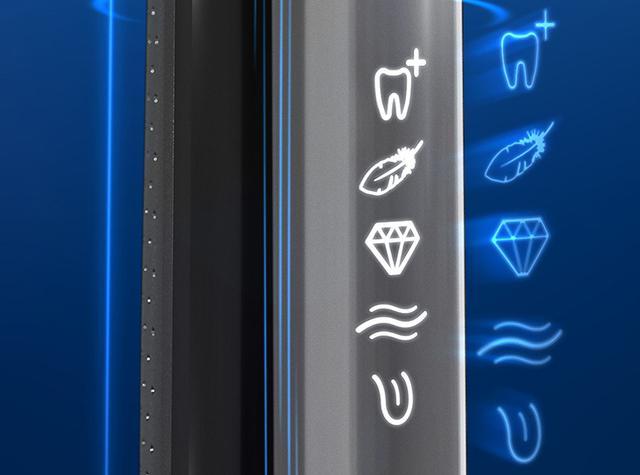 画像: 運転モードは6種類で、 ❶ プロクリーン ❷ 舌クリーニング ❸ ホワイトニング ❹ やわらかクリーン ❺ 歯ぐきケア ❻ クリーンを用意。用途別に使い分けることが可能だ。