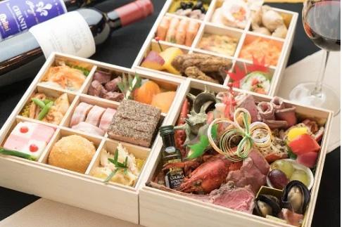 画像: ダールフルイット・イタリアンおせち三段重 www.furusato-tax.jp