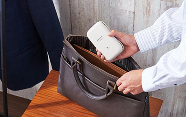 画像: ハンガータイプより携帯しやすい! www.yodobashi.com