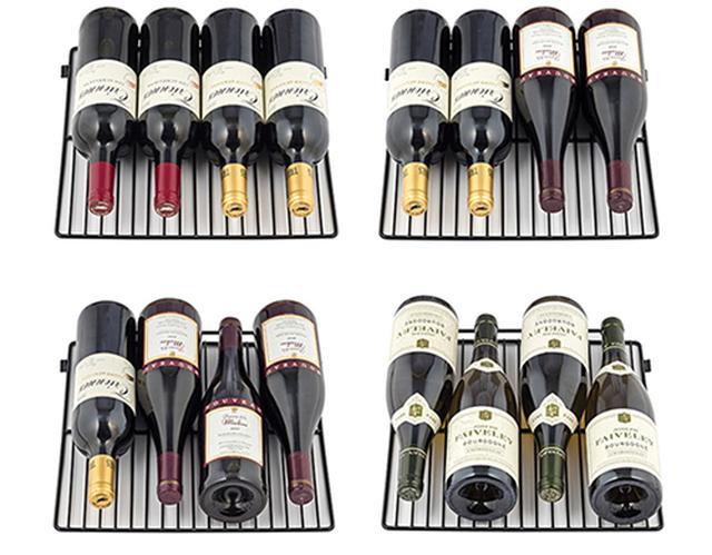画像: スライドワイヤーラック採用で、ワインボトルが取り出しやすくなった。