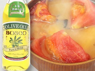 画像: オリーブオイルを少量加えれば、リコピンの吸収率がアップ!