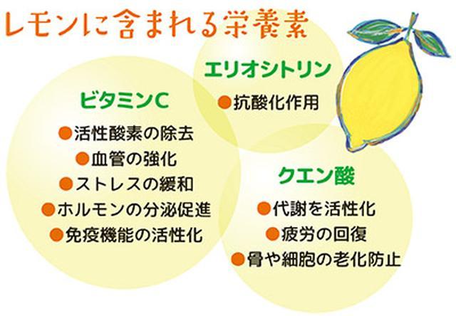 画像: レモンは元気と長寿を支える栄養素が豊富