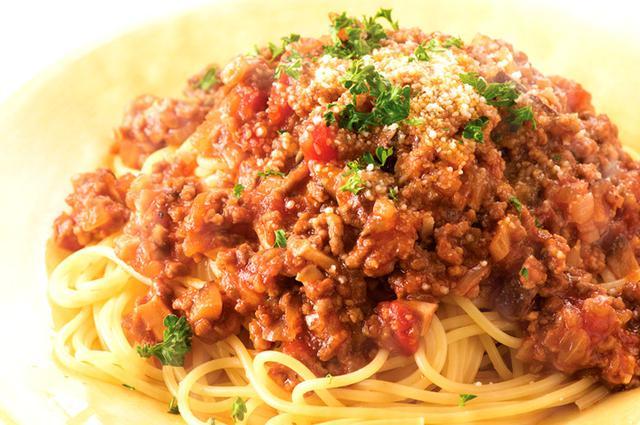 画像: おいしく食べて若返るガッツリ肉レシピ ミートソーススパゲティ