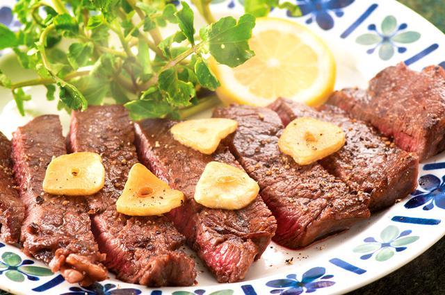 画像: おいしく食べて若返るガッツリ肉レシピ ガーリックステーキ