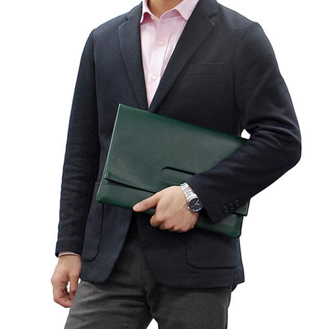 画像2: 【Appleユーザー必見】MacBookやiPadのケース おしゃれに持ち歩ける専用バッグが登場
